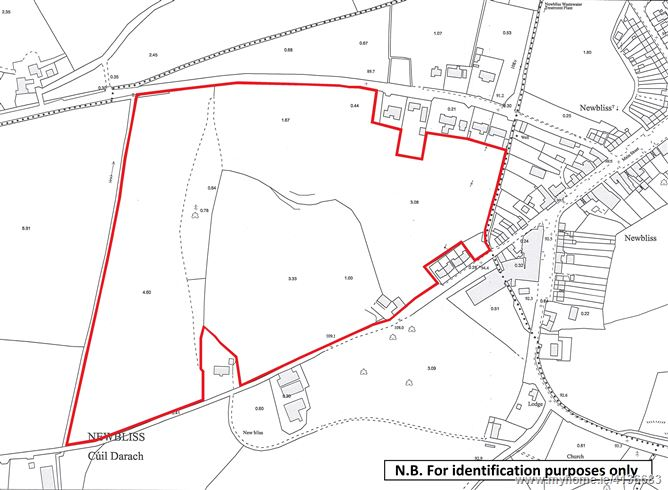 Photo of Land contained within Folio MN3975F, Lisdarragh, Newbliss, Co. Monaghan