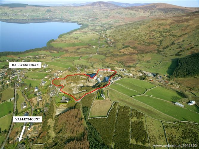Substantial Buildings on c. 8 Acres/ 3.24 Ha., Ballyknockan Village, Blessington, Wicklow