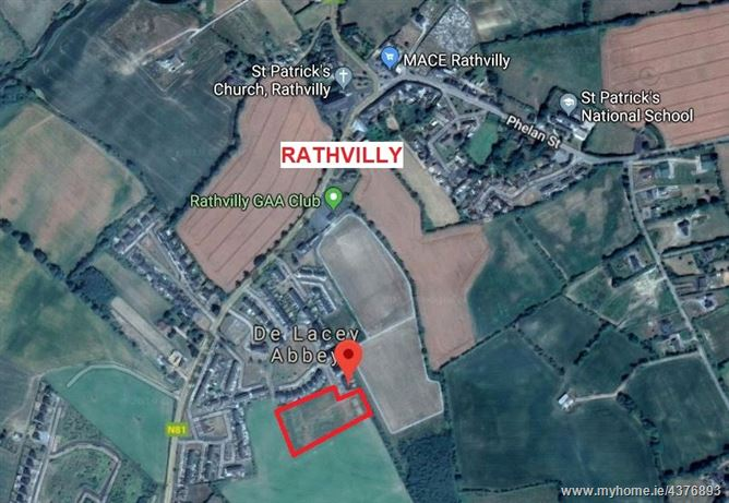 Main image for Development Site At, DeLacy Abbey, Rathvilly, Co Carlow
