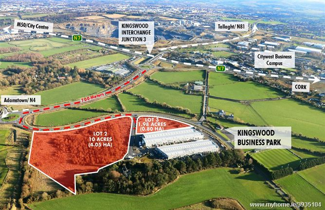 12 Acres at Kingswood Business Park, Dublin 22, Dublin