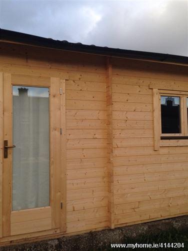 Log cabin, Clondalkin, Dublin 22