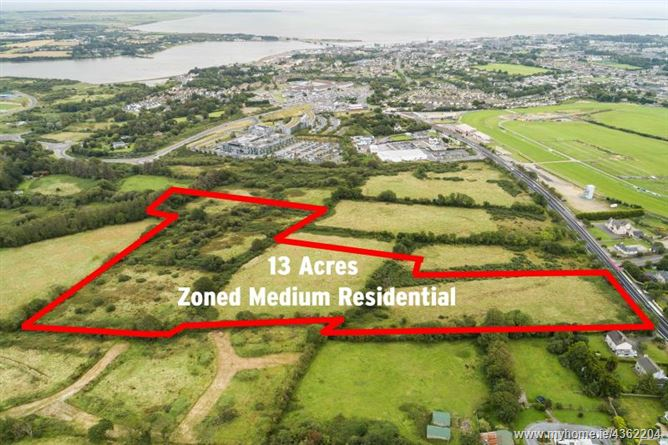 Main image for c. 13 Acres / 5.26 Hectares at Newtown Road, Wexford Town, Wexford