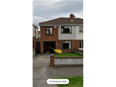 Property image of 13 templeroan way, Knocklyon,   Dublin 16, D16X2Y2