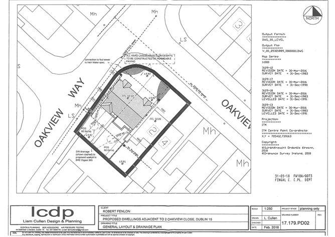 Main image for SITE - 2 Oakview Close, Clonsilla, Dublin 15, D15 KVN6