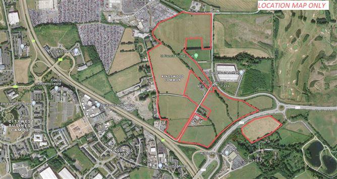 Main image for Landmark High-Profile Site c.88 acres/ 35.6 Ha., Kingswoodcross, Naas Road, Dublin 22