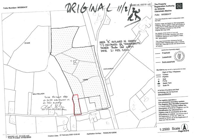 Main image for C 0. 75 Acres Of Land At,Coolnaboy,Oilgate,Co Wexford