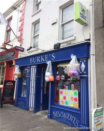 Burke's Newsagency, Main St., Baltinglass, Co. Wicklow