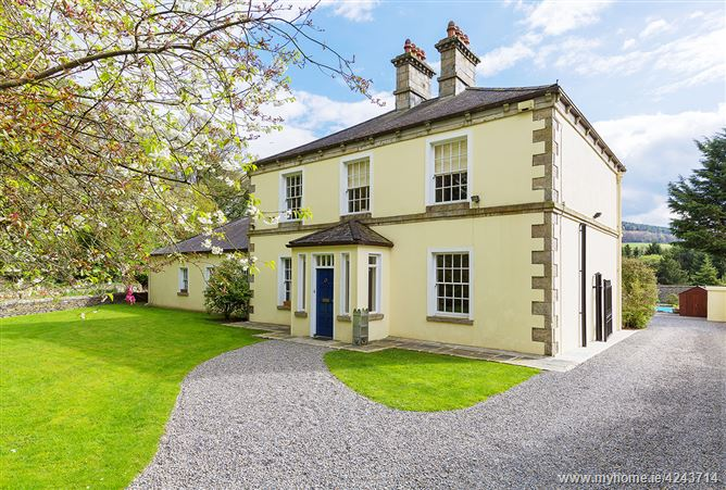 Main image for Quails Wood House, Coolattin, on approx. 1.5 Acres (0.607 hectares), Shillelagh, Wicklow