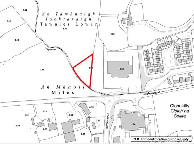 Main image for Circa 1 Acres site (Folio CK90994F), Western Road, Clonakilty, Co. Cork
