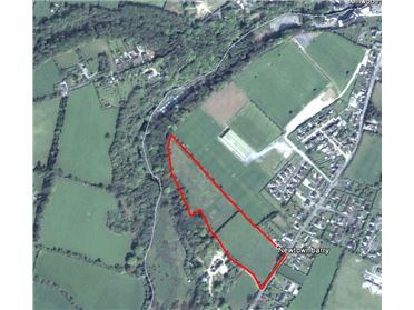 Main image of Prime Residential Development Site of C.9.23 Acres with F.P.P. for 49 Houses, AT Newtownbarry, Bunclody, Wexford
