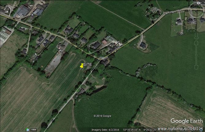 3 acre site with OPP 6 houses, Clonalvy, Meath