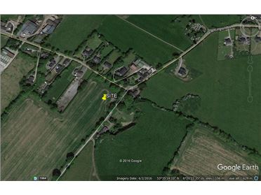 Photo of 3 acre site with OPP 6 houses, Clonalvy, Meath