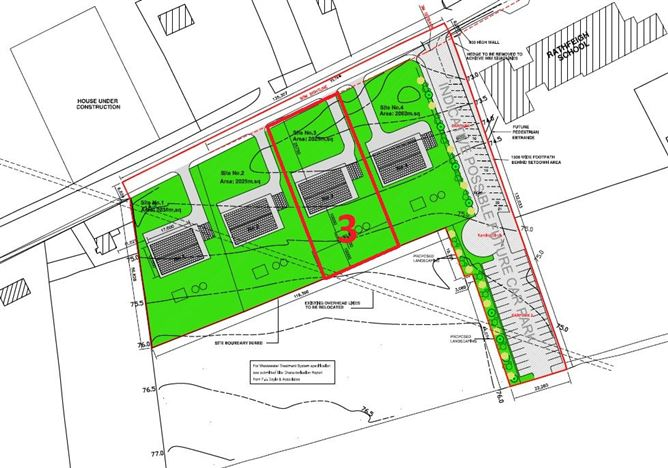 Main image for Site No.3 with Outline Planning At Edoxtown, Rathfeigh, Tara, Meath