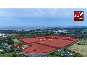 Photo of Prime Development Land C. 27 Acres (Zoned Residential) at Coolballow, Wexford Town, Wexford