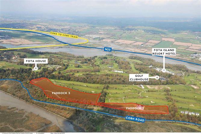Main image for Residential Development Land at Fota Island Resort, Fota Island, Cork , Fota, Cork,Co. Cork