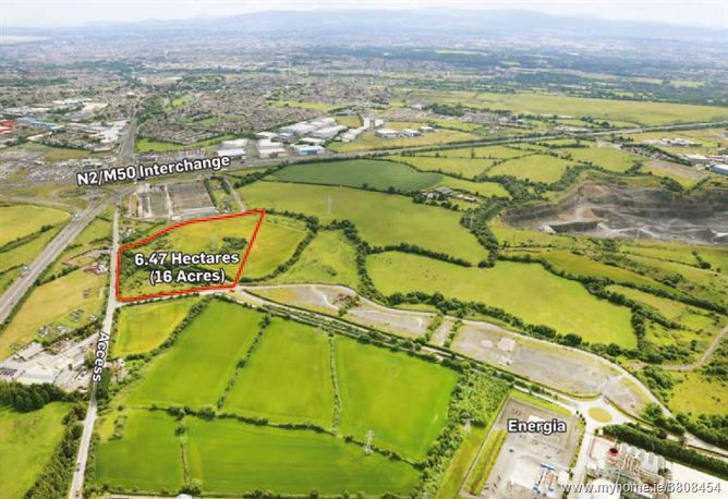 Heavy Industry Zoned Lands at Huntstown, Mulhuddart, Dublin 15