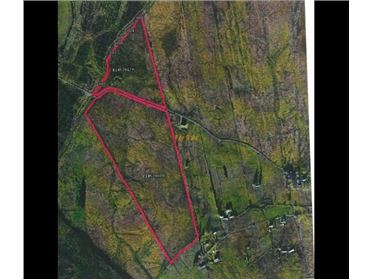 34.10 acres for sale at Glashagh More, Fintown, Cloghan, Donegal