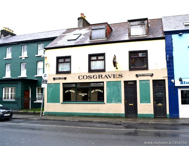 Cosgraves Bar 7 Day Licensed Premises, Spencer Street, Castlebar, Mayo