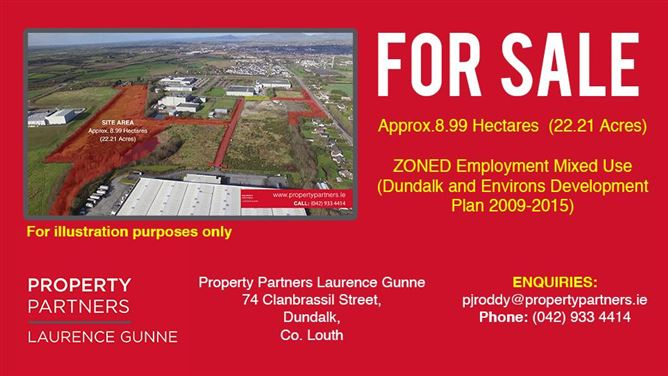 C. 8.99 Hectares (22.23 acres) Adjoining Xerox Technology Park, Dundalk, Louth