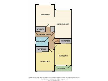 Apartment 30 Woodview Court, Glenalbyn Road, Stillorgan, County Dublin