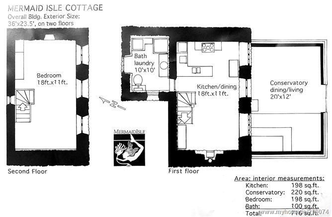 Mermaid isle glanlough sneem co kerry for Irish cottage house plans with photos