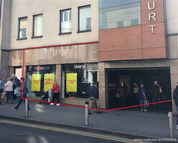 Main image for LET AGREED - Units 1 & 2 (Level 2), Corbett Court Shopping Centre, Williamsgate Street, City Centre, Galway City
