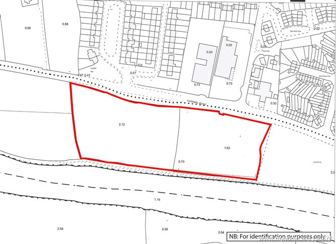 Photo of Lands comprised within Folio TY4632, Clonmel Road, Carrick-on-Suir, Co. Tipperary