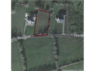 1 acre site for sale Callan, Drumkeen, Co. Donegal