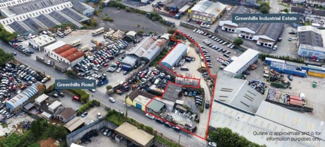 Main image for Site at Greenhills Road Walkinstown, Dublin 12, For Sale by Private Treaty (Tenants not affected)