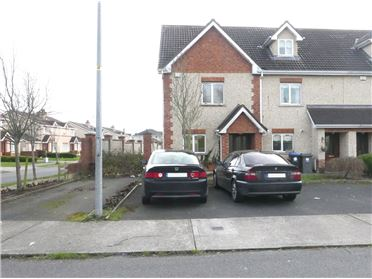 Photo of 3 Bed End of Terrace with Single Storey Extension to Rear, 28 Rossdarragh Glen, Portlaoise, Laois