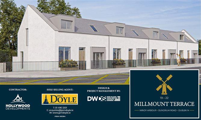 Main image for 19 - 22 Millmount Terrace, Windy Arbour, Dublin 14
