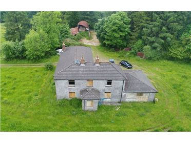 Photo of Dwelling on c. 24.85 Acres at Craanlusky, Bilboa, Carlow Town, Carlow