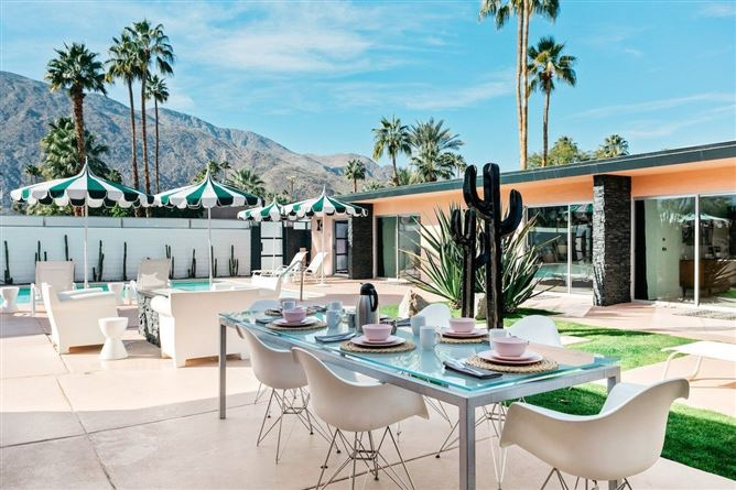 Main image for Tropical Leaves,Palm Springs,California,USA
