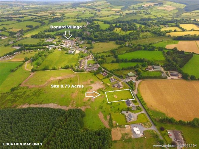 Site c. 0.73 Acres/ 0.3 HA., Donard Village, Donard, Wicklow