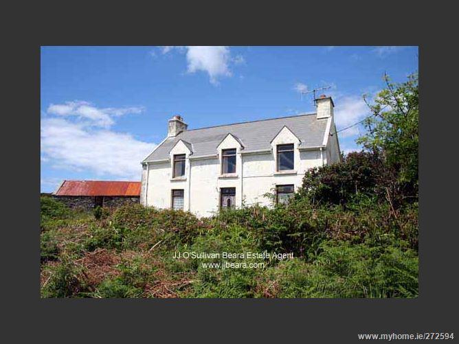 Farmhouse on c.27 Acres at Knockroe, Cahermore, Beara, West Cork