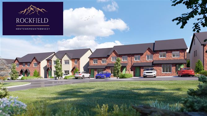 Phase 1, 4 Bedroom Semi-Detached House, Rockfield, Newtownmountkennedy, Wicklow