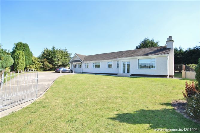 Bungalow on c. 0.75 Acre/ 0.303 Ha., Slievecorragh, Hollywood, Wicklow