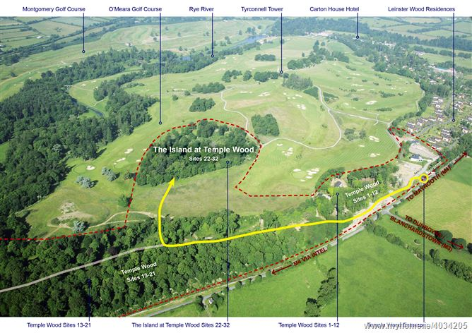 The Island, Temple Wood, Carton Demesne, Maynooth, Co. Kildare - Serviced Sites