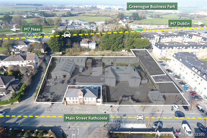 Main image for Site with FPP for 58 Bedroom Aparthotel and 9 Retail Units, Rathcoole, Dublin