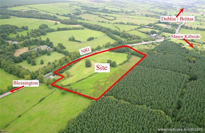 Land c. 16.75 acres/6.78 ha., Tinode, Blessington, Wicklow