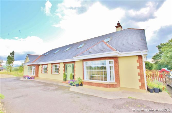 DORMER BUNGALOW ON C. 1.2 ACRES /0.48 HA, Tayberry, Crehelp, Dunlavin, Wicklow