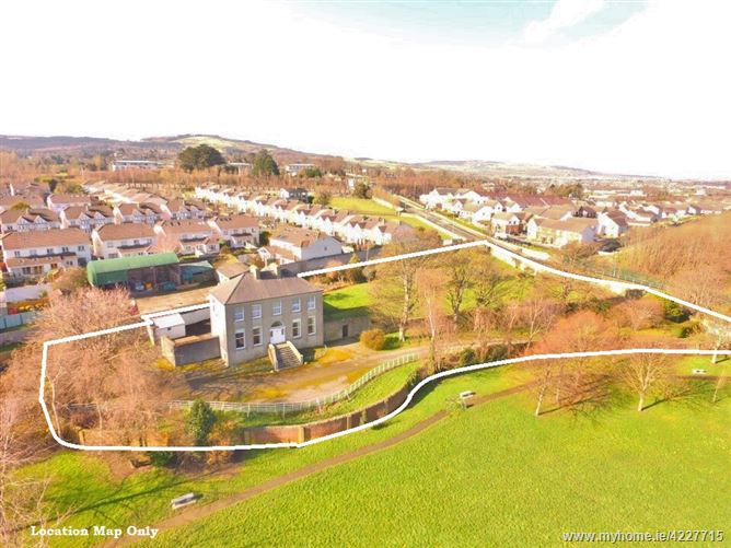 "Georgian Residence/ Development Site, ""Prospect House"" on c. 1.23 Acres/ 0.5 HA., Stocking Lane"