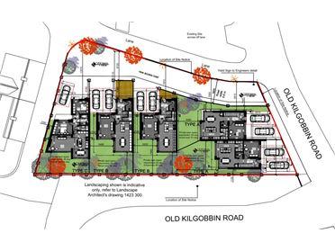 Photo of Site With Full Planning Permission For Five Houses Greenacres, Old Kilgobbin Road, , Sandyford, Dublin 18