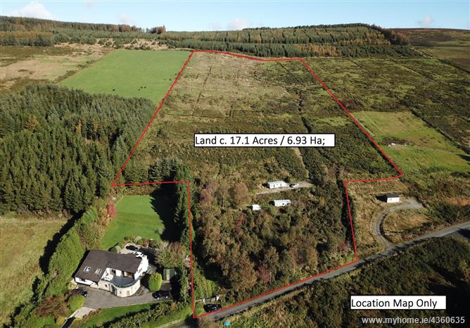 Land c. 17.1 Acres / 6.93 Ha., Gap Road, Lacken, Blessington, Wicklow