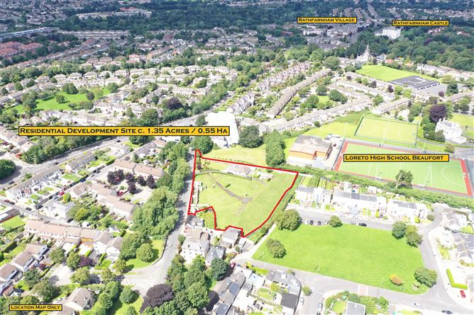 Main image for Residential Development Site c. 1.35 acres/0.55 Ha., Whitechurch Road, Rathfarnham, Dublin 14