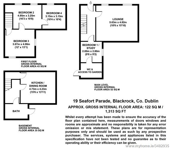 19 Seafort Parade, Blackrock,   County Dublin