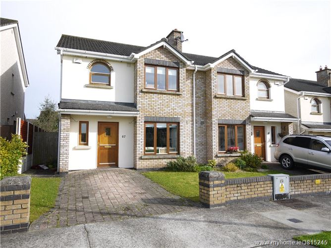 87 College Wood Manor, Clane, Co Kildare, W91 YD35