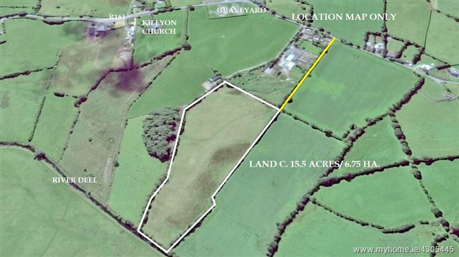 Land c. 15.5 acres/6.27 Hectares, Ballina, Killyon, Hill of Down, Clonard, Meath