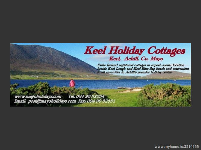 Main image for Keel Holiday Cottages,Achill Island, Mayo