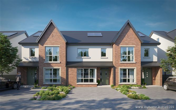 Elsmore, Naas, Co. Kildare - large 3 bed townhouses